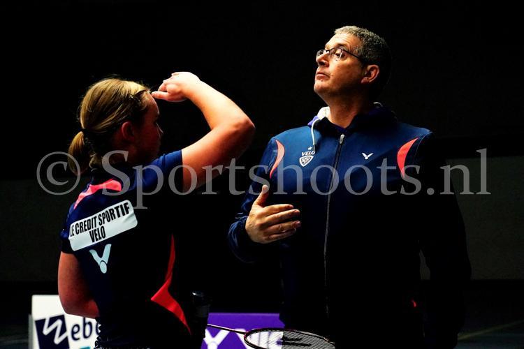 Coach aan het werk