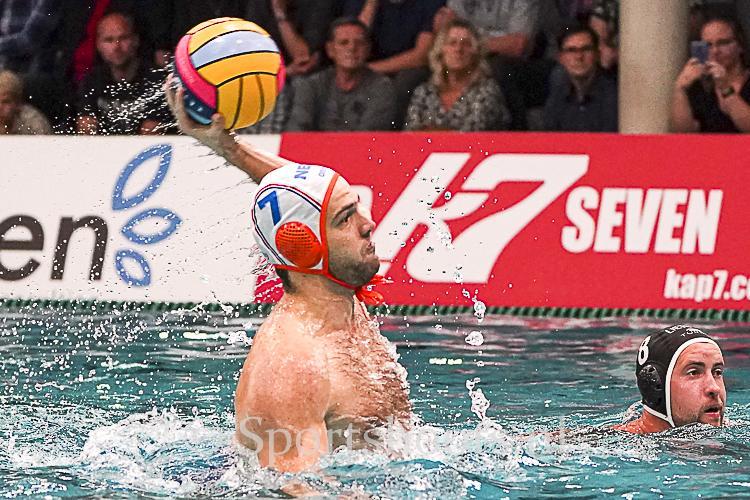 Waterpolo Team NL overklast Litouwen