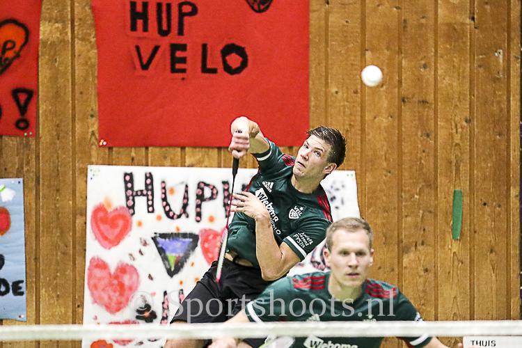 Play-offs weer inzicht voor VELO Badminton