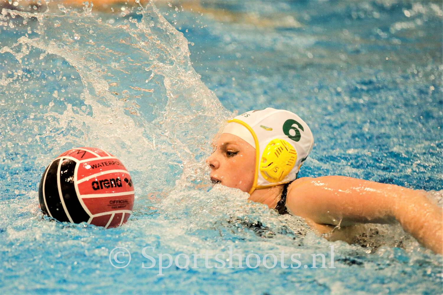 Waterpolo, teambuilding staat centraal
