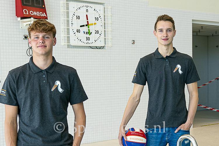Darko Jovanovics en Jeroen Willemsen naar Waterpolo Den Haag