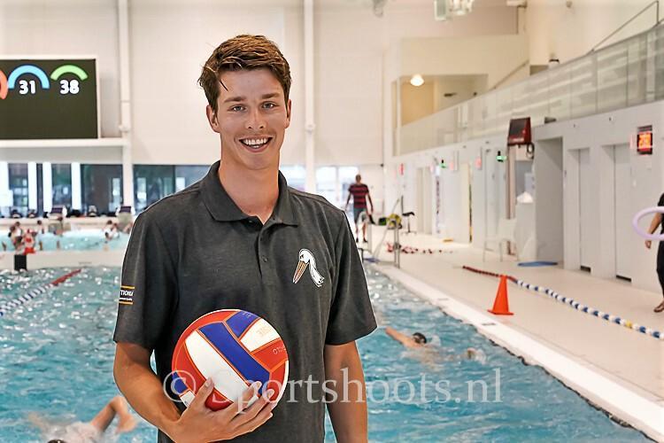Jorik Amesz waterpolospeler met internationale ervaring