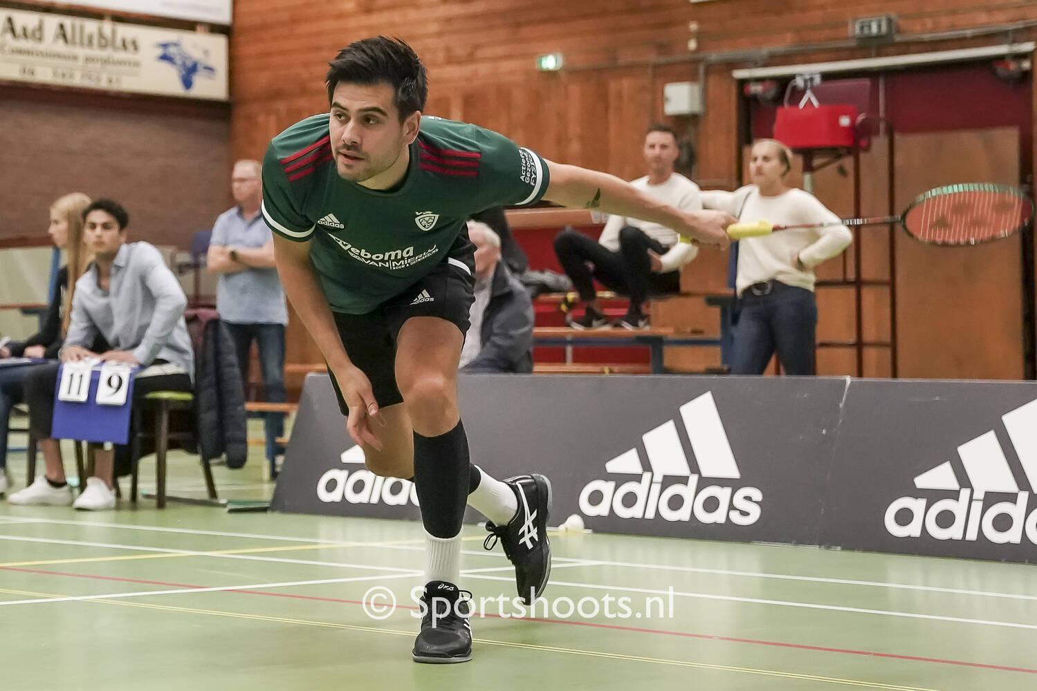 VELO Badminton nestelt zich in de top 5