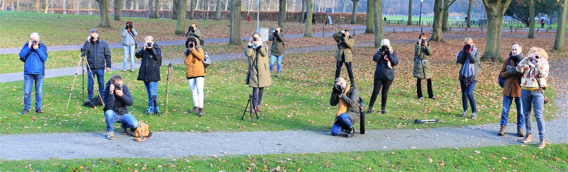 Volledig programma bij Fotocursus Westland