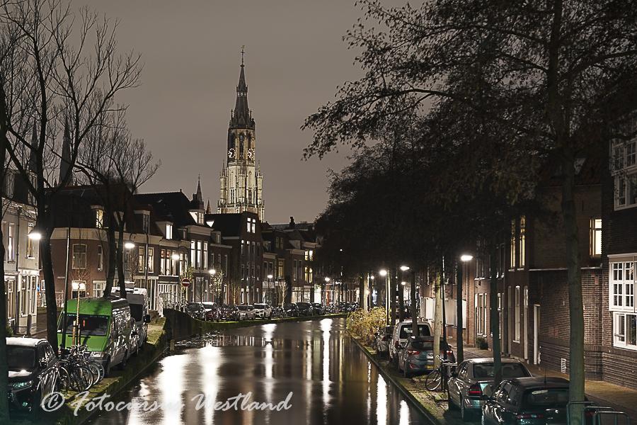 """Workshop """"Avondfotografie,  in het feeëriek verlichte Delft"""""""