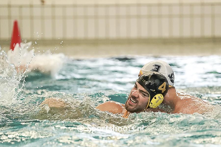 Eerste competitie punt voor Waterpolo Den Haag lukt niet
