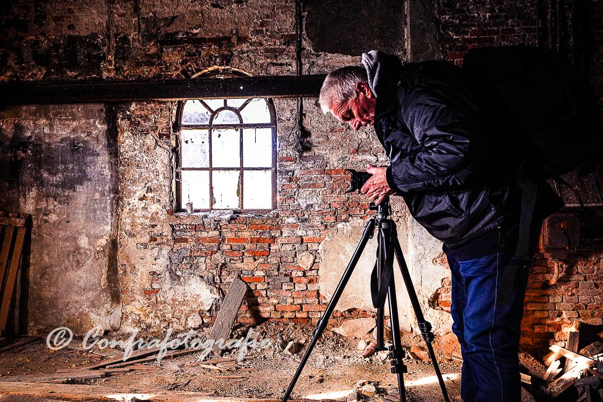 Confrafotografie reisfoto's