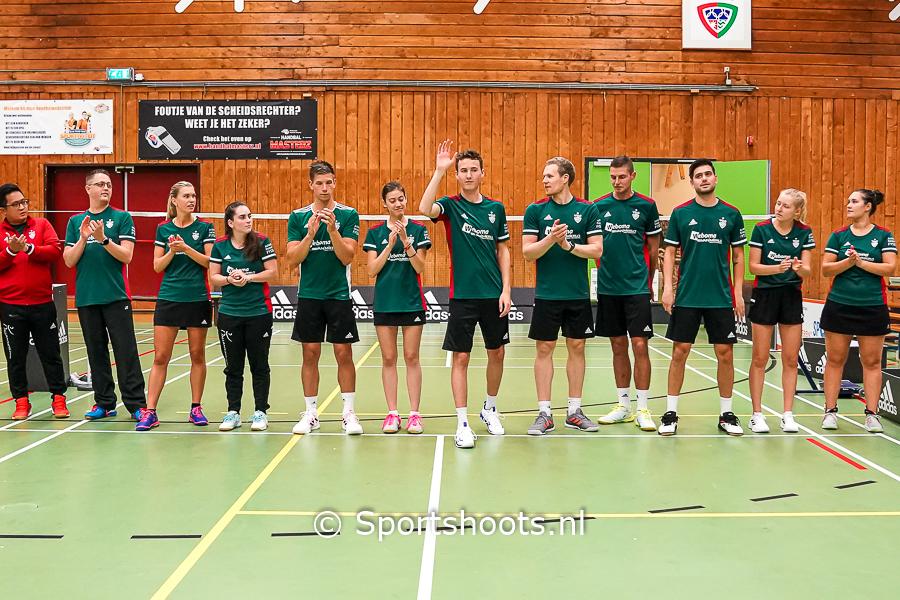 VELO Badminton maakt een goede stap met winst naar de top 5