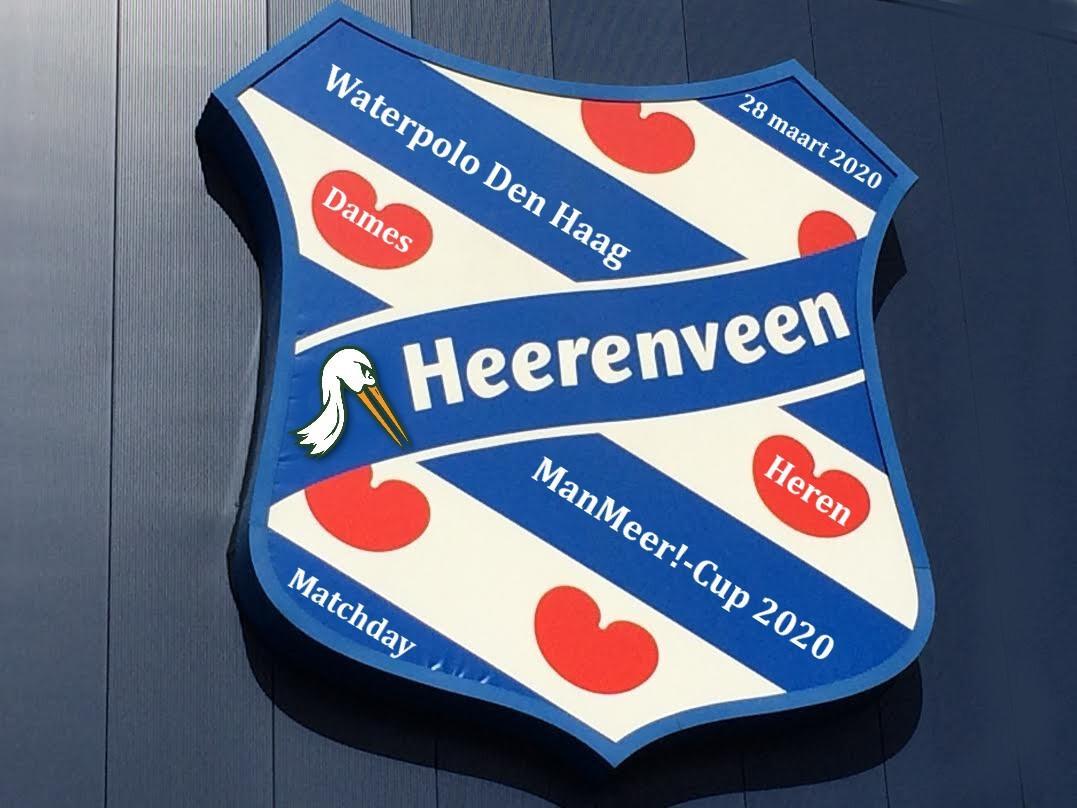 Geen ManMeer!-Cup bekerjacht voor Waterpolo Den Haag